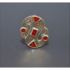 S brooch  LOW-PRICED