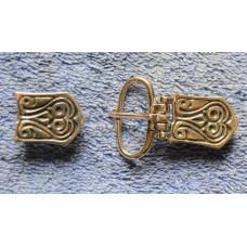 Avaric-Slavic buckle + strap end