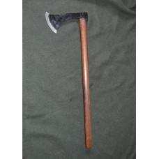 Battle axe with long shaft