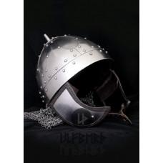 Spangenhelm aventail 2mm steel battle ready