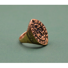 Seal ring of the Knights Templar