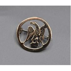 Salic eagle brooch