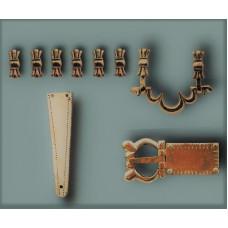 Gothic belt set