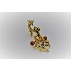 Small  figural brooch from Glauberg