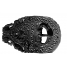 "Late Roman chip carved belt set "" marine animal """