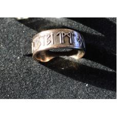 Rune ring 24 futhark