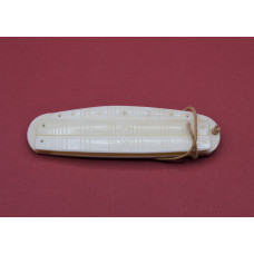 3 ply bone comb with case