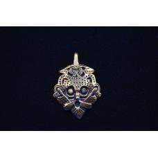 Mask amulet pendant