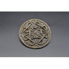 Disc brooch Terself