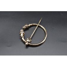 Dragon ring brooch