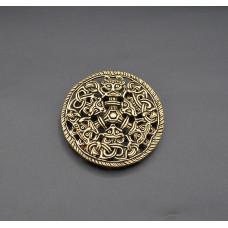 Bjolstad disc brooch  LOW PRICED