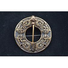 Big ring brooch
