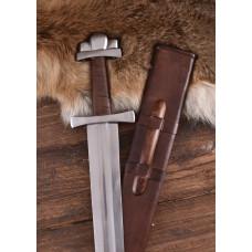Sword with three lobed pommel , scabbard , practical blunt B