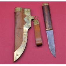 Germanic  damascus steel knife