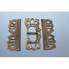 Germanic three piece belt set